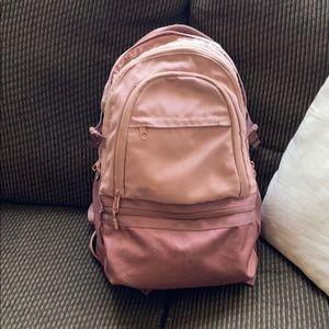 Rose Gold Victoria Secret PINK Campus Backpack
